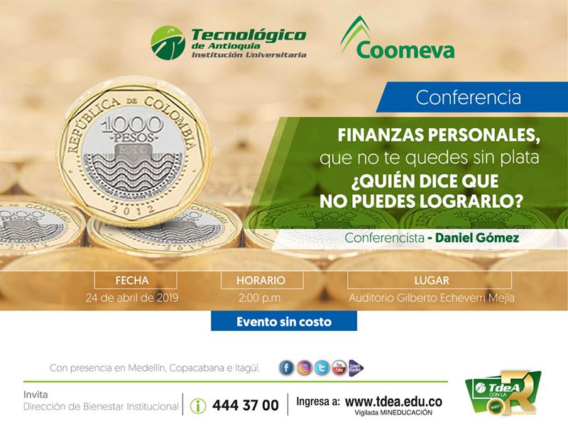 Conferencia sobre finanzas personales