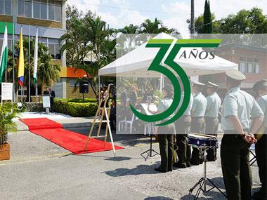 El TdeA Celebró 35 años con Calidad en acto cívico el 14 de marzo del 2018