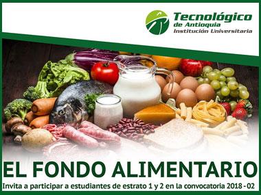 Participa de la convocatoria del Fondo Alimentario