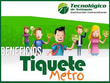 Conoce más de la convocatoria del Tiquete Metro