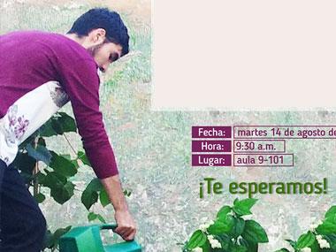 Convocatoria para los estudiantes de la Tecnología Agroambiental
