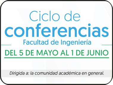 Participa virtualmente en el ciclo de conferencias de la Facultad de Ingeniería