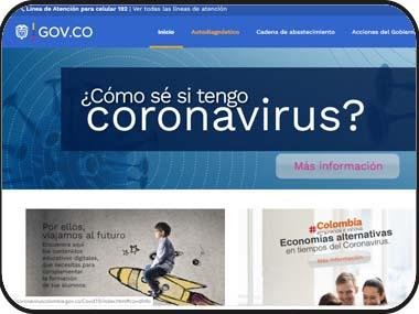 Medidas tomadas por el Gobierno Nacional ante el Coronavirus en Colombia