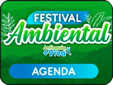 Participa en el Festival Ambiental Antioquia + Viva 2021 el próximo 27 de octubre
