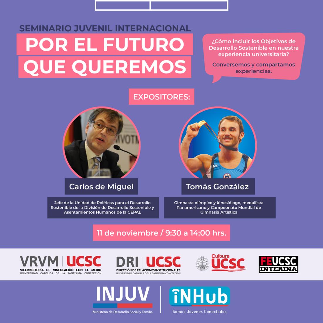 Seminario Juvenil Internacional: Por el Futuro que queremos