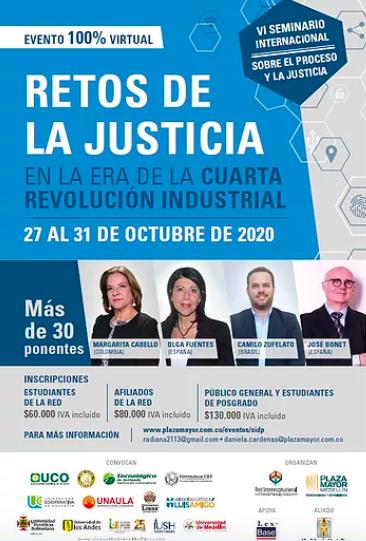 VI Seminario Internacional sobre el Derecho y la Justicia 2020