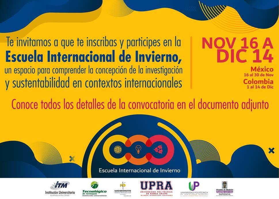 Convocatoria Escuela Internacional de Invierno